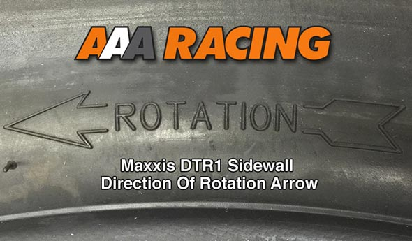 Maxxis DTR1 Flat Track Tyre DOR