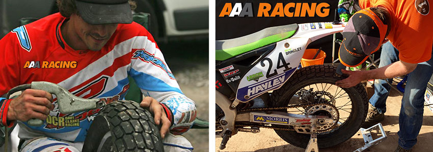 AAA Racing | Maxxis DTR1 | Rear Tyre Cuts